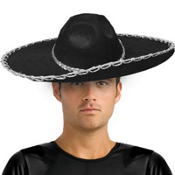 Black Sombrero Adult