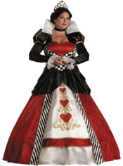 Plus Size Queen of Hearts Costume Adult Elite