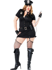 Plus Size Dirty Cop Costume Adult