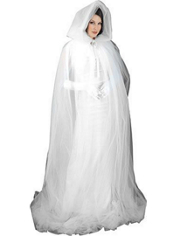 Adult Luxury Ghost Cape
