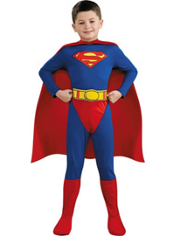 Superman Costume Boys