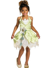 Princess and the Frog Tiana Costume Girls Classic