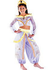 Lavender Princess Jasmine Costume Girls