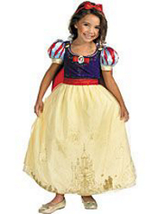 Glitter Snow White Costume Girls Prestige