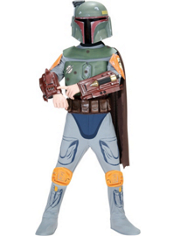Star Wars Boba Fett Costume Boys Deluxe