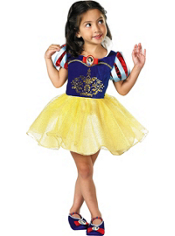 Ballerina Snow White Costume Girls