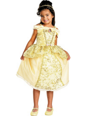 Gold Belle Costume Girls Deluxe
