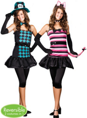 Mad About You Reversible Costume Teen Girls