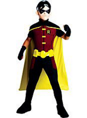 Young Justice Robin Costume Boys