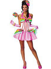 Sexy Lollipop Girl Costume Adult