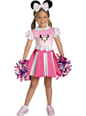 Minnie Mouse Cheerleader Costume Toddler Girls