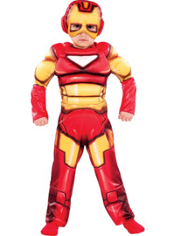 Iron Man Muscle Costume Toddler Boys