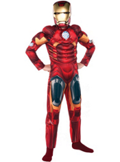 Iron Man Muscle Costume Boys