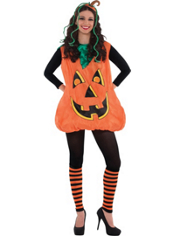 Pretty Pumpkin Costume Adult