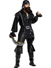 Scurvy Pirate Costume Adult