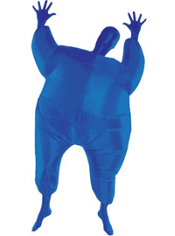 Blue Inflatable Morphsuit Adult