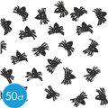 Black Mini Spiders 50ct