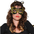 Sequin Bumblebee Mask Adult