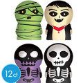 Skeleton Finger Puppets 12ct