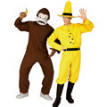 Curious George and Man in the Yellow Hat Couples Costumes