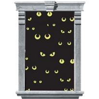 Spooky Cat Eye Window Cling