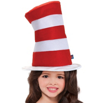 The Cat in the Hat Felt Hat Child