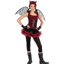 Dark Wing Devil Costume Teen Girls