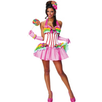 Sexy Lollipop Girl Costume Adult