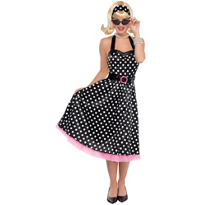 Polka Dot Cutie '50s Costume Adult