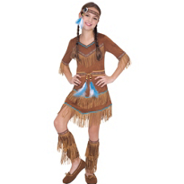 Dream Catcher Cutie Native American Costume Girls