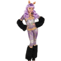 Girls Clawdeen Wolf Costume Supreme - Monster High